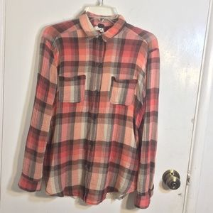 We The Free People Flannel Shirt